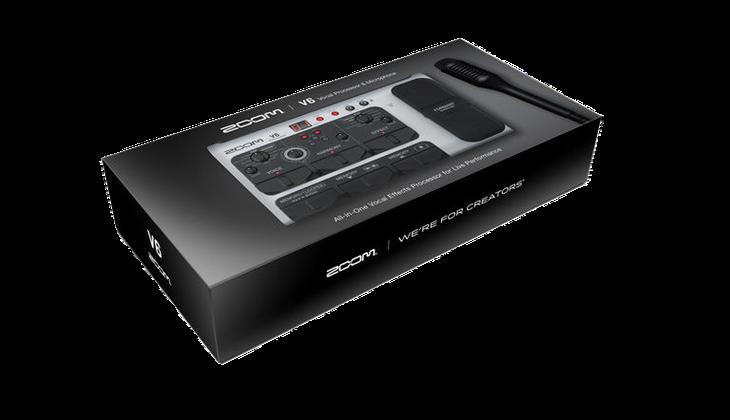 The zoom V6 in a box.