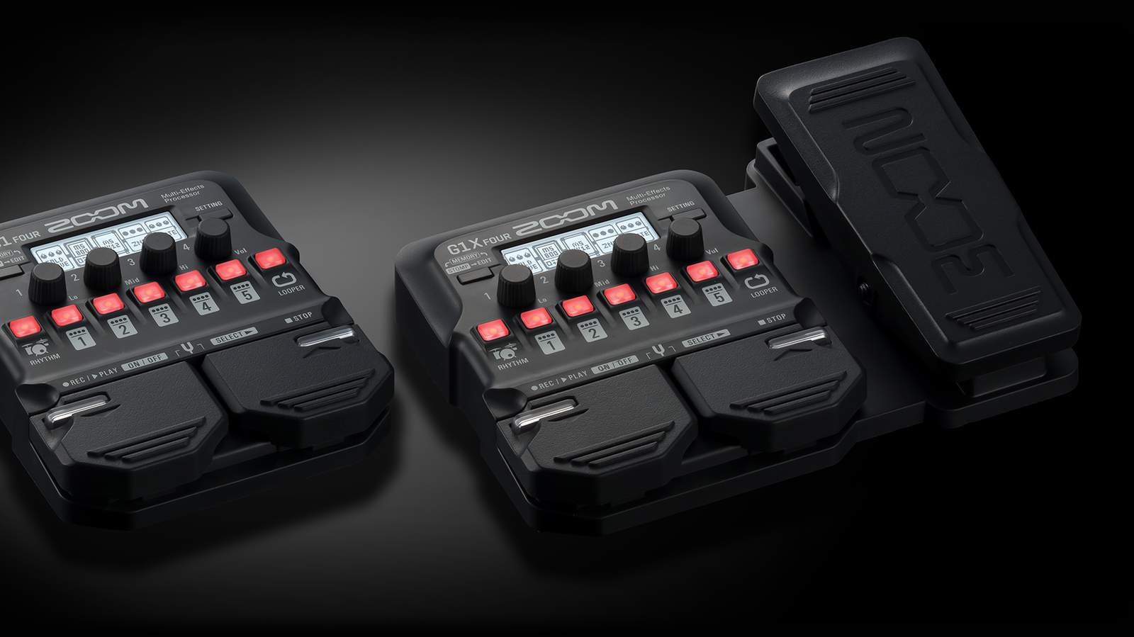 G1 Four pedals