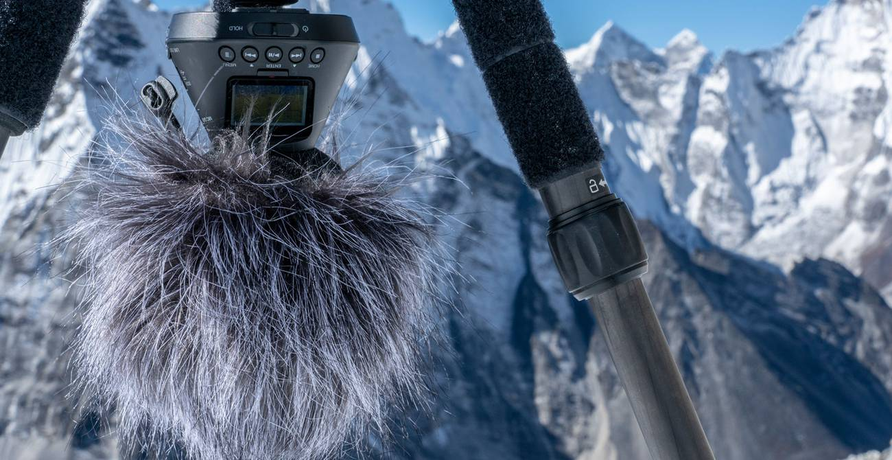 vr mic with everest