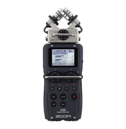 Front of the H5 Handy Recorder