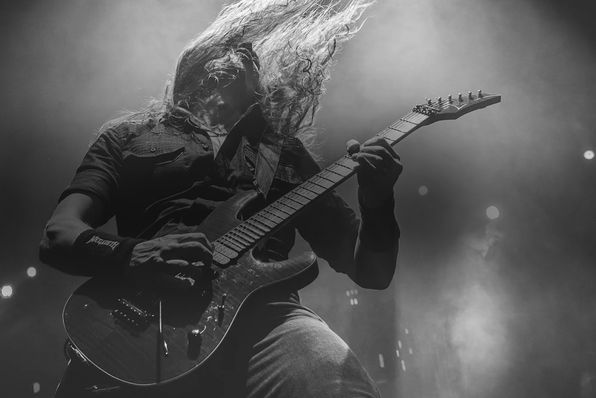 Kiko Loureiro with guitar