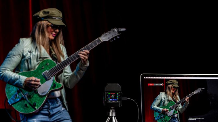 Live steam session with guitarist Michelle Marie