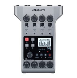 The PodTrak P4 podcast recorder