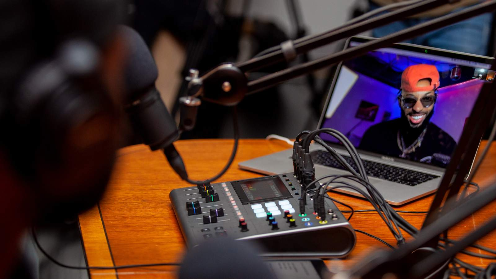 Podcasting with the P8