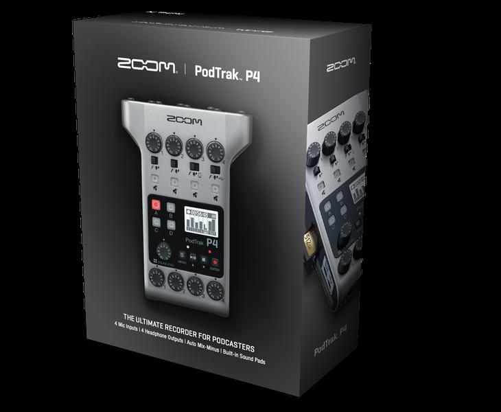 PodTrak P4 packaging