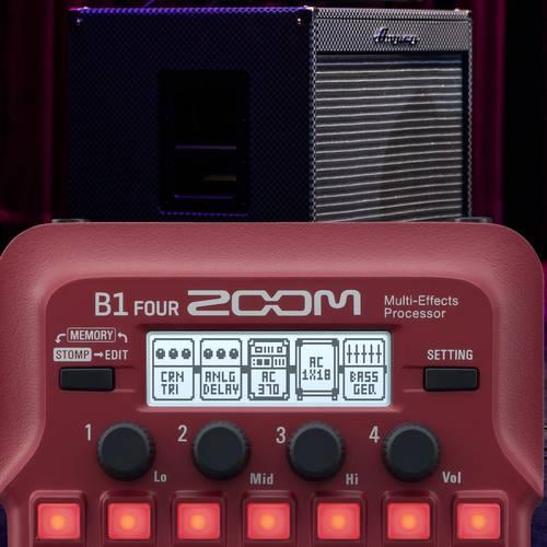 Zoom B1X FOUR Bass Guitar Multi-Effects Processor 14