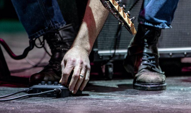 педаль регулировки гитариста