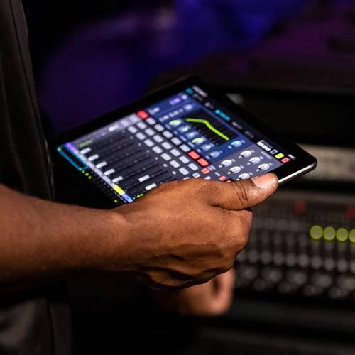 iPad wireless control
